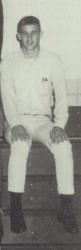 Taylor's dad in varsity club close up