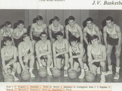 Taylor's dad in jr. varsity basketball