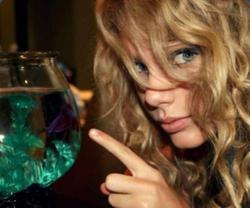 Taylor and a fish