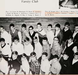 Taylor's dad in Varsity club again