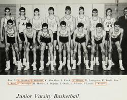 Taylor's dad on the varsity basketball team
