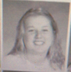 Adrienne's yearbook picture