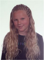 Taylor's fifth grade school picture