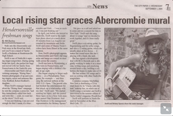 Local rising star article