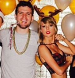 Taylor and Austin on Taylor's 25th birthday