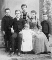 Charles Swift and his brothers and sisters