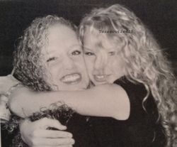 Taylor and Abigail hugging