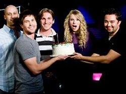 Surprise birthday cake again