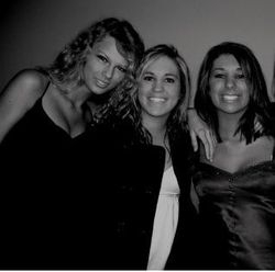 Taylor with Kelsey and Ally