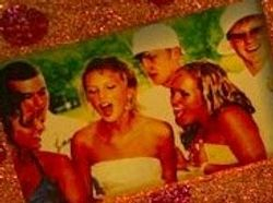 A prom picture from Taylor's old room