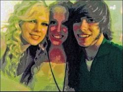 Taylor, Abigail and a guy