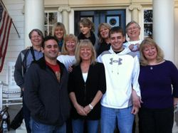 Taylor with her whole family