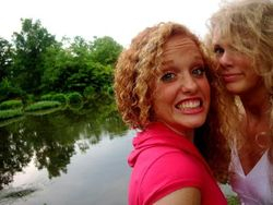 Taylor and Abi at fifteen or sixteen 4