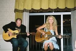 Performing at someone's house