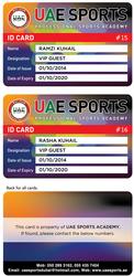 UAE SPORTS Membership Cards Advatage