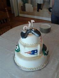 Boys 16th Birthday Cake