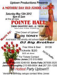 Uptown Mother's Day Cabaret