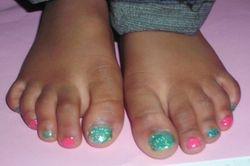 Little Miss Sparkle Pedicure