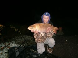 daniel andrews first fish of  a session