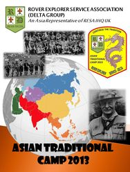 Asian Traditional Camp 2013 (Cancelled)