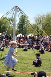 Kaslo May Days  - Maypole Dance