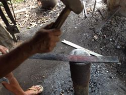 Shaping the Blade Process
