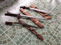 Filipino Traditional Weapons Samples
