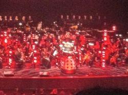 Dalek on stage