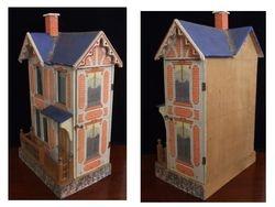 Nice old Gottschalk Blue Roof House