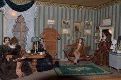 Victorian parlour (part)