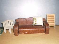Sofa came out of a Handicrafts House with a lot of 40s stuff.