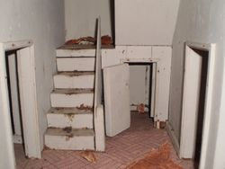 Stairs are removable