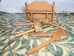 Kitchen Shelf and Utensils