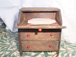 Pit-A-Pat desk with original Blotter