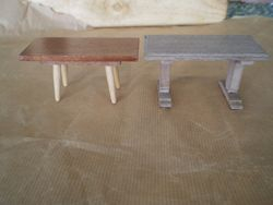 Barton Table on left, Twigg on Right