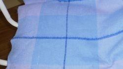 Blue blanket for Kim