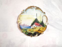 China brooch, picture for Dolls' House