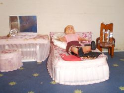 Bedroom of Dolly Mixture
