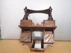 Dressing table showing legs!