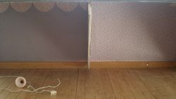 I made the divider from foam board & cardboard.