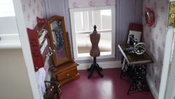 Sewing room in tower