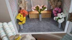 Flower shop coming along