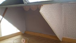 Attic divided into two
