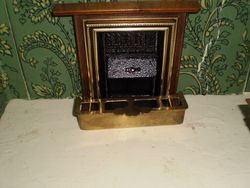 Fireplace number two with fender
