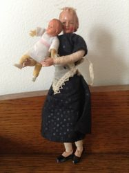 Caho maid and baby