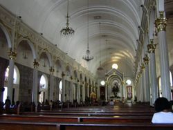 Interior of the Bacolod Cathedral