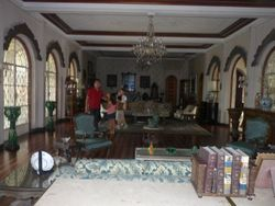 Living Room of the Lizares Mansion
