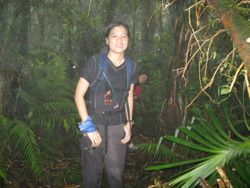 Trekking tin North Negros