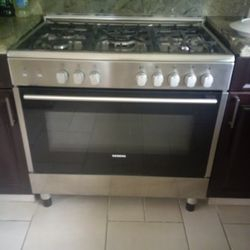 5 Ring Gas Cooker Siemens