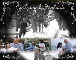 Carlos and Stephanie Wedding Poster